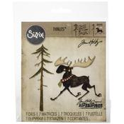 Merry Moose Sizzix Thinlits Dies - Tim Holtz