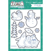 Etched Die - Frosty Friends - Photoplay