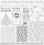 Christmas Layered Cards Paper - Color Me - Photoplay