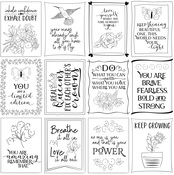Inspiration 3x4 Cards Paper - Color Me - Photoplay