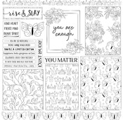 Inspiration Layered Cards Paper - Color Me - Photoplay