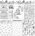 Grow Layered Cards Paper - Color Me - Photoplay