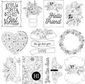 Hello 3x4 Cards Paper - Color Me - Photoplay