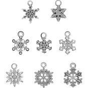 Antique Nickel Snowflakes - Tim Holtz