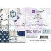 4X6 Journaling Cards - Georgia Blues - Prima