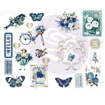 Chipboard Stickers - Georgia Blues - Prima - PRE ORDER