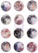 Moon Child Enamel Stickers - Prima