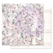 Finding The Way Paper - Lavender Frost - Prima