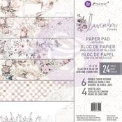 Lavender Frost 12 x 12 Paper Pad - Prima