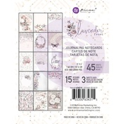 Lavender Frost 3x4 Journaling Cards - Prima