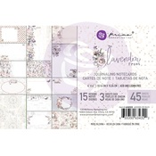 Lavender Frost 4 x 6 Journaling Cards - Prima