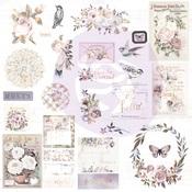 Lavender Frost Embellishment Pack - Prima