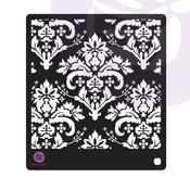 Lavender Frost Stamps & Stencil - Prima