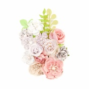Misty Nights Flowers - Lavender Frost - Prima - PRE ORDER