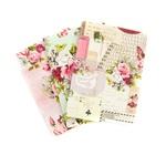Misty Rose Passport Notebook Inserts - Prima