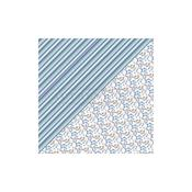 #5 Stripe Paper - Frosted - Authentique