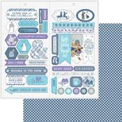 Elements Die-Cut Sheet - Frosted - Authentique