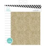 Spiral - Gold Glitter Memory Planner - Heidi Swapp