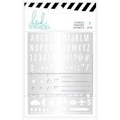 Stencils - Heidi Swapp - Memory Planner