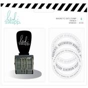 Magnetic Date Stamp - Memory Planner - Heidi Swapp