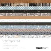 Let's Go 6 x 6 Paper Pad - KaiserCraft - PRE ORDER - PRE ORDER