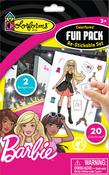 Barbie - Colorforms(R) Fun Pack Re-Stickable Sticker Set