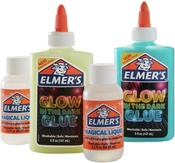 Glow In The Dark - Elmer's Slime Kit W/Magical Liquid