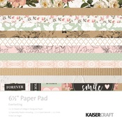 Everlasting 6 x 6 Paper Pad - KaiserCraft - PRE ORDER