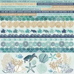 Deep Sea Cardstock Stickers - KaiserCraft