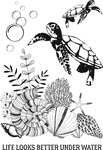 Deep Sea Clear Stamps - KaiserCraft - PRE ORDER