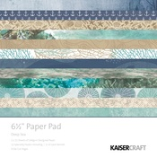 Deep Sea 6 x 6 Paper Pad - KaiserCraft