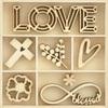 Blessings Wood Flourishes - KaiserCraft