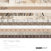 Whisper 6.5 x 6.5 Paper Pad - KaiserCraft