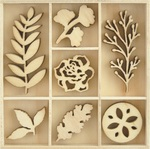 Nature Wood Flourishes - KaiserCraft