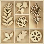 Nature Wood Flourishes - KaiserCraft