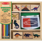 Dinosaur - Wooden Stamp Set