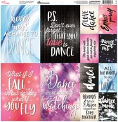 Just Dance Elements Sticker Sheet - Reminisce
