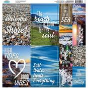 Rocky Shores Poster Stickers - Reminisce