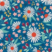 Country Floral Paper - Our House - Carta Bella