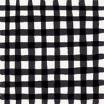 Black Gingham Paper - Our House - Carta Bella