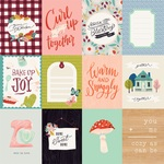 3x4 Journaling Cards Paper - Our House - Carta Bella
