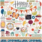 Our House Sticker Sheet - Carta Bella