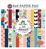 Our House 6 x 6 Paper Pad - Carta Bella