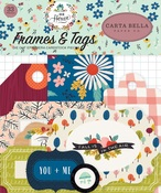 Our House Frames & Tags Ephemera - Carta Bella