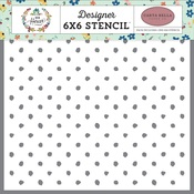 Cozy Dot Stencil - Carta Bella