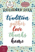 Gather Love Word Die Set - Carta Bella