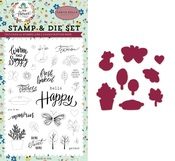 Sweet Little Life Die & Stamp Set - Carta Bella