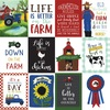 3x4 Journaling Cards Paper - Down On The Farm - Echo Park