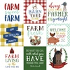 4x4 Journaling Cards Paper - Down On The Farm - Echo Park