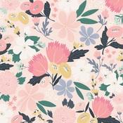 I Love Us Floral Paper - You & Me - Echo Park